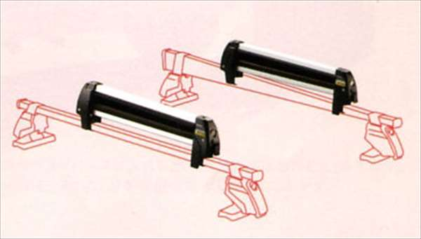 『R2』 純正 RC1 RC2 スキーアタッチメント・平積ナロー アタッチメントのみ本体は別売 パーツ スバル純正部品 キャリア別売り オプション アクセサリー 用品