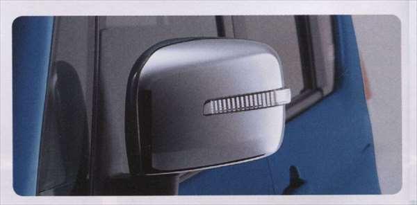 『ソリオ』 純正 MA15S メッキ ドアミラーカバー(LEDサイドターンランプ付ドアミラー用) パーツ スズキ純正部品 サイドミラーカバー カスタム solio オプション アクセサリー 用品
