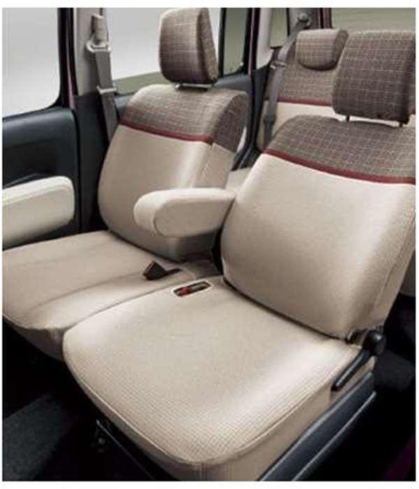 『ミラココア』 純正 L675S シートカバー ブリティッシュ パーツ ダイハツ純正部品 座席カバー 汚れ シート保護 miracocoa オプション アクセサリー 用品