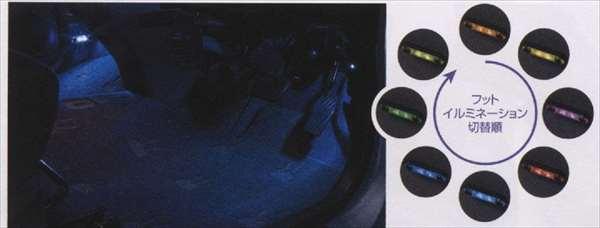 『ラパン』 純正 HE22S フットイルミネーション フロントフロア左右セット パーツ スズキ純正部品 照明 明かり ライト lapin オプション アクセサリー 用品