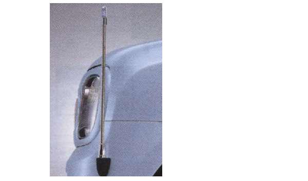 『ラパン』 純正 HE22S コーナーポール(固定式) パーツ スズキ純正部品 危険察知 接触防止 セキュリティー lapin オプション アクセサリー 用品