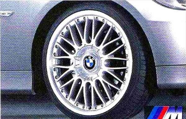 3 パーツ Mクロススポーク・スタイリング・コンポジット101 ホイール単体9J×19(リヤ) BMW純正部品 LBA ABA オプション アクセサリー 用品 純正 送料無料