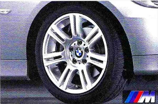 3 パーツ Mダブルスポーク・スタイリング194 ホイール単体8J×17(フロント) BMW純正部品 LBA ABA オプション アクセサリー 用品 純正 送料無料
