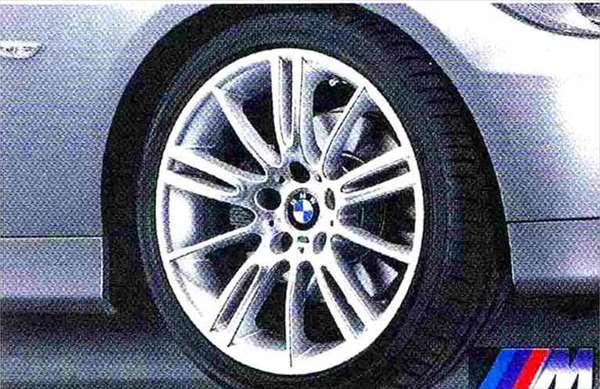 3 パーツ Mスタースポーク・スタイリング193 ホイール単体8J×18(フロント) BMW純正部品 LBA ABA オプション アクセサリー 用品 純正 送料無料