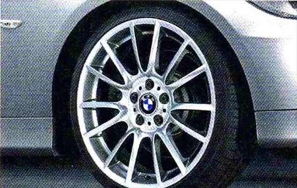 3 パーツ Vスポーク・スタイリング228 ホイール単体9J×19(リヤ) BMW純正部品 LBA ABA オプション アクセサリー 用品 純正 送料無料