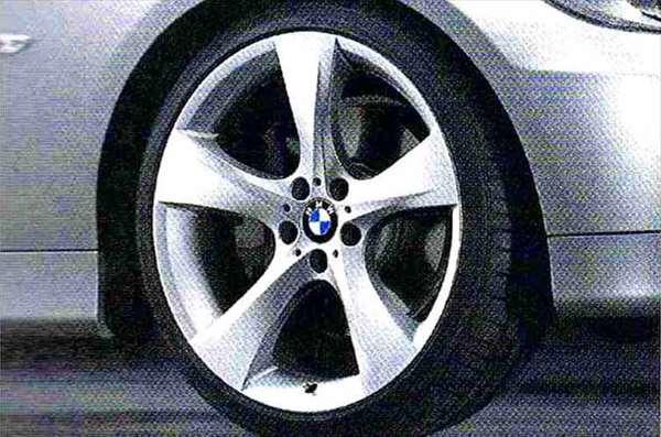 3 パーツ スタースポーク・スタイリング311 ホイール単体8J×19(フロント) BMW純正部品 LBA ABA オプション アクセサリー 用品 純正 送料無料