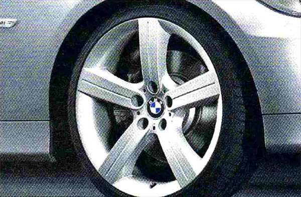 3 パーツ スタースポーク・スタイリング199 コンプリートセット 225/35R19 フロント 255/30R19 リヤ BMW純正部品 LBA ABA オプション アクセサリー 用品 純正 送料無料