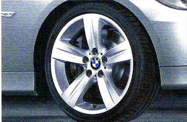 3 パーツ スタースポーク・スタイリング189 ホイール単体8J×18(フロント) BMW純正部品 LBA ABA オプション アクセサリー 用品 純正 送料無料
