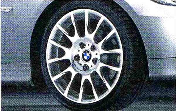 3 パーツ ラジアルスポーク・スタイリング216 コンプリートセット 225/40R18 フロント 255/35R18 リヤ BMW純正部品 LBA ABA オプション アクセサリー 用品 純正 送料無料