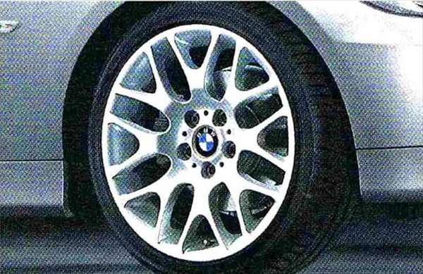 3 パーツ クロススポーク・スタイリング197 ホイール単体8J×18(フロント) BMW純正部品 LBA ABA オプション アクセサリー 用品 純正 送料無料