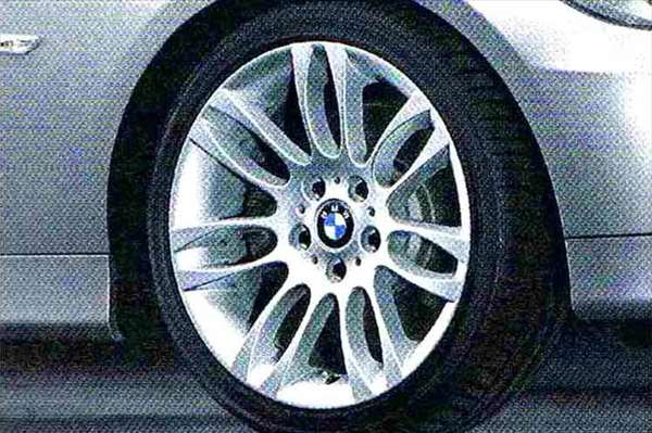 3 パーツ ダブルスポーク・スタイリング195 コンプリートセット 225/40R18 フロント 255/35R18 リヤ BMW純正部品 LBA ABA オプション アクセサリー 用品 純正 送料無料