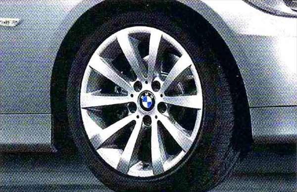 3 パーツ Vスポーク・スタイリング285 ホイール単体8J×17(フロント/リヤ共用) BMW純正部品 LBA ABA オプション アクセサリー 用品 純正 送料無料