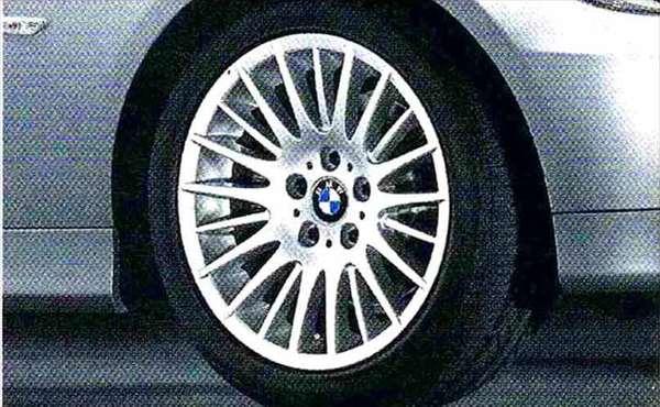 3 パーツ ラジアルスポーク・スタイリング160 ホイール単体8J×17(フロント/リヤ共用) BMW純正部品 LBA ABA オプション アクセサリー 用品 純正 送料無料