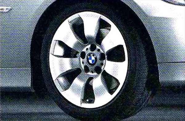 3 パーツ スタースポーク・スタイリング158 ホイール単体8J×17(フロント/リヤ共用) BMW純正部品 LBA ABA オプション アクセサリー 用品 純正 送料無料