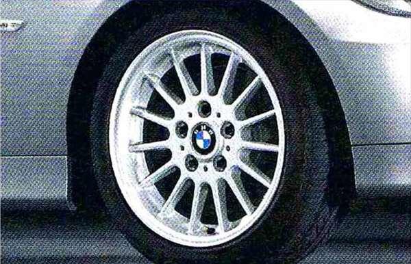 3 パーツ ラジアルスポーク・スタイリング32 ホイール単体8J×17(フロント/リヤ共用) BMW純正部品 LBA ABA オプション アクセサリー 用品 純正 送料無料