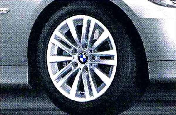 3 パーツ スタースポーク・スタイリング283 ホイール単体7J×16(フロント/リヤ共用) BMW純正部品 LBA ABA オプション アクセサリー 用品 純正 送料無料