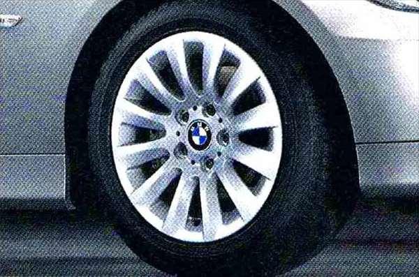 3 パーツ マルチスポーク・スタイリング282 ホイール単体7J×16(フロント/リヤ共用) BMW純正部品 LBA ABA オプション アクセサリー 用品 純正 送料無料