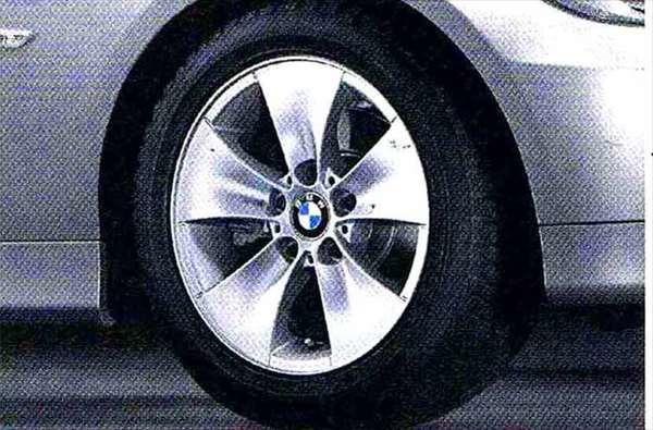 3 パーツ スタースポーク・スタイリング155 ホイール単体7J×16(フロント/リヤ共用) BMW純正部品 LBA ABA オプション アクセサリー 用品 純正 送料無料
