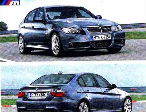 3 パーツ Mエアロダイナミクス・パッケージ(~2008.9) 取付部品 アンダー・カバーのみ ※本体は別売り BMW純正部品 LBA ABA オプション アクセサリー 用品 純正 カバー