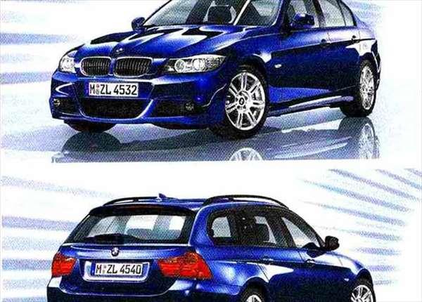 3 パーツ Mエアロダイナミクス・パッケージ(2008.9~) ツーリング用 BMW純正部品 LBA ABA オプション アクセサリー 用品 純正 送料無料