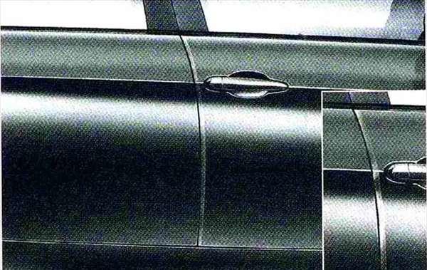 3 パーツ ドア・エッジ・プロテクション BMW純正部品 LBA ABA オプション アクセサリー 用品 純正
