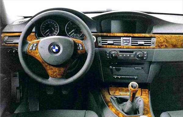 """3 パーツ ウッド・トリム""""ポプラ"""" ダッシュボードのみ(~2008.9)左ハンドル車左側用 BMW純正部品 LBA ABA オプション アクセサリー 用品 純正 ウッド"""