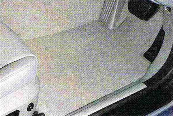 """3 パーツ フロア・マット・セット""""ベロア"""" グレー BMW純正部品 LBA ABA オプション アクセサリー 用品 純正 マット"""