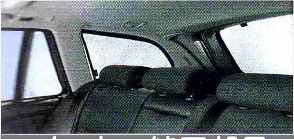 3 パーツ リヤ・サン・スクリーン ※ツーリングのみ BMW純正部品 LBA ABA オプション アクセサリー 用品 純正