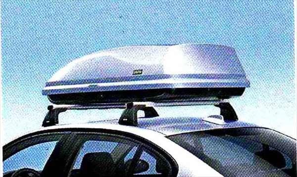 """3 パーツ ルーフ・ボックス""""350"""" シルバー BMW純正部品 LBA ABA オプション アクセサリー 用品 純正 送料無料"""