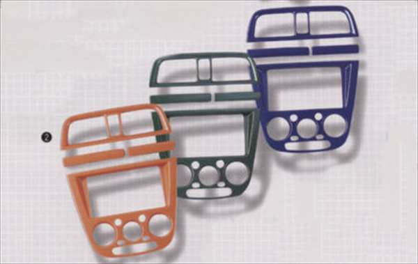 『インプレッサ』 純正 GD2 GD3 GD9 GG2 GG3 GG9 インパネセンター グリーン パーツ スバル純正部品 impreza オプション アクセサリー 用品
