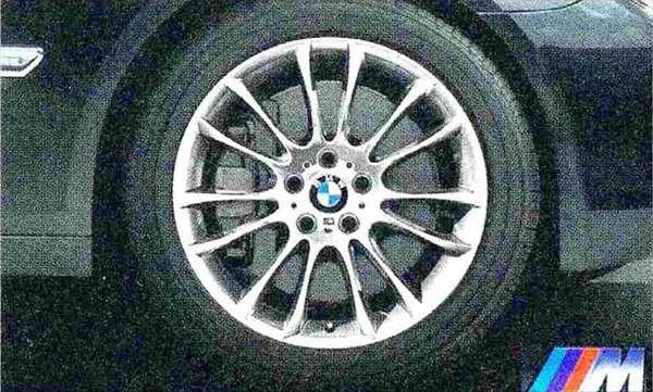 7 パーツ Vスポーク・スタイリング302M ホイール単体9.5J×19(リヤ) BMW純正部品 YA30 YE30 YA44 YG60 YE44 オプション アクセサリー 用品 純正 送料無料