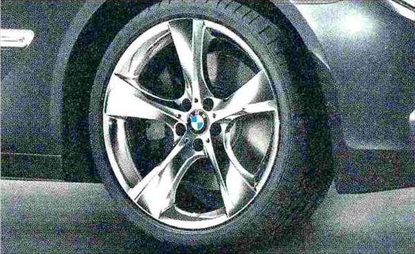 7 パーツ スタースポーク・スタイリング311(クローム) ホイール単体 10J×21(リヤ) BMW純正部品 YA30 YE30 YA44 YG60 YE44 オプション アクセサリー 用品 純正 送料無料