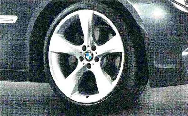 7 パーツ スタースポーク・スタイリング311 コンプリートセット 245/35R21 フロント 275/30R21 リヤ BMW純正部品 YA30 YE30 YA44 YG60 YE44 オプション アクセサリー 用品 純正 送料無料