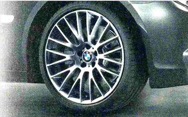 7 パーツ クロススポーク・スタイリング312(フェリック・グレイ) コンプリートセット 245/35R21 フロント 275/30R21 リヤ BMW純正部品 YA30 YE30 YA44 YG60 YE44 オプション アクセサリー 用品 純正 送料無料