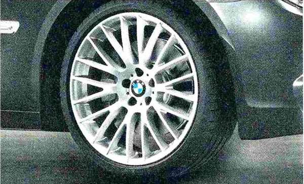 7 パーツ クロススポーク・スタイリング312 ホイール単体 10J×21(リヤ) BMW純正部品 YA30 YE30 YA44 YG60 YE44 オプション アクセサリー 用品 純正 送料無料