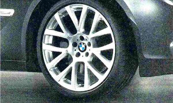 7 パーツ ダブルスポーク・スタイリング238(21インチ) ホイール単体 10J×21(リヤ) BMW純正部品 YA30 YE30 YA44 YG60 YE44 オプション アクセサリー 用品 純正 送料無料