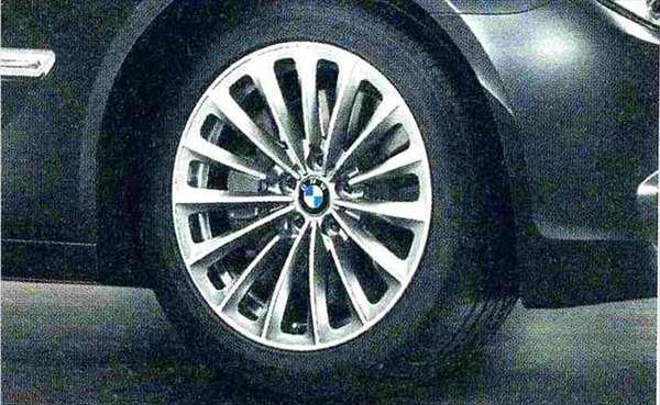 7 パーツ ラジアルスポーク・スタイリング252 ホイール単体9.5J×19(リヤ) BMW純正部品 YA30 YE30 YA44 YG60 YE44 オプション アクセサリー 用品 純正 送料無料