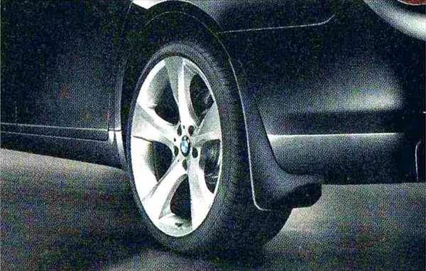 7 パーツ マッド・フラップ・セット 2枚入り BMW純正部品 YA30 YE30 YA44 YG60 YE44 オプション アクセサリー 用品 純正