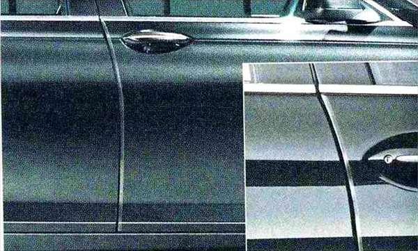 7 パーツ ドア・エッジ・プロテクション BMW純正部品 YA30 YE30 YA44 YG60 YE44 オプション アクセサリー 用品 純正