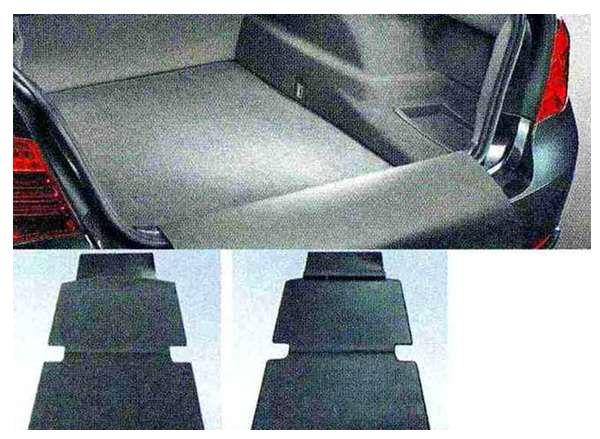7 パーツ リバーシブル・ラゲージ・マット(後席用オートマチック・エアコンディショナー非装備車用) BMW純正部品 YA30 YE30 YA44 YG60 YE44 オプション アクセサリー 用品 純正 マット