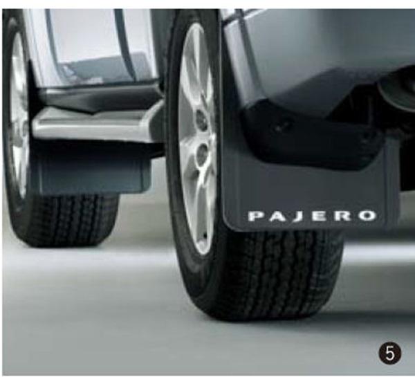 『パジェロ』 純正 V98W V93W マッドフラップ パーツ 三菱純正部品 オプション アクセサリー 用品