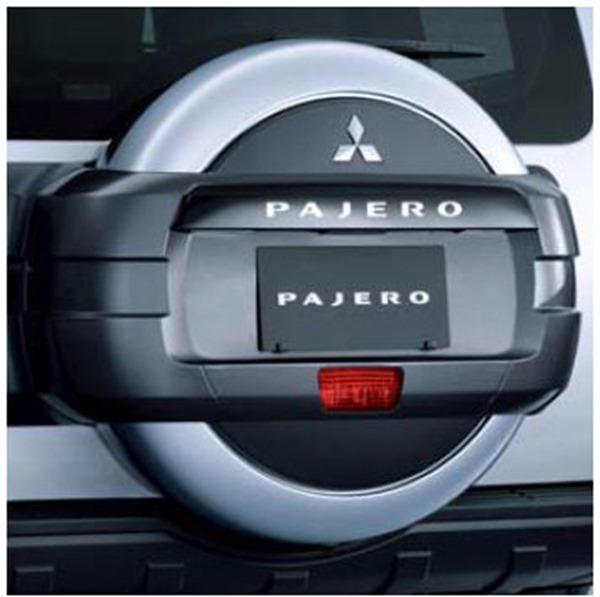 『パジェロ』 純正 V98W V93W スペアタイヤケース(塗装) パーツ 三菱純正部品 オプション アクセサリー 用品