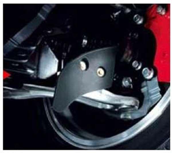 『ランサーエボリューションX』 純正 CZ4A ブレーキ冷却導風板 パーツ 三菱純正部品 LANCER オプション アクセサリー 用品