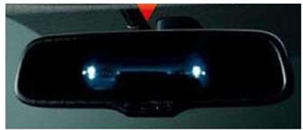 『ランサーエボリューションX』 純正 CZ4A オート防眩ルームミラー パーツ 三菱純正部品 LANCER オプション アクセサリー 用品