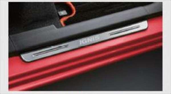 『イグニス』 純正 FF21S サイドシルスカッフ パーツ スズキ純正部品 ステップ 保護 プレート ignis オプション アクセサリー 用品