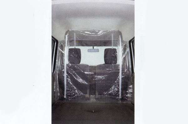 『NT100クリッパー』 純正 DR64W 仕切りカーテン パーツ 日産純正部品 オプション アクセサリー 用品