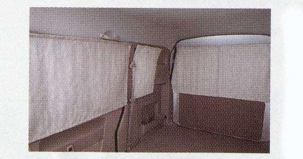 『NT100クリッパー』 純正 DR64W 車内カーテン パーツ 日産純正部品 オプション アクセサリー 用品