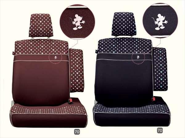『ムーヴ』 純正 LA150S シートカバー ディズニー 1台分 パーツ ダイハツ純正部品 座席カバー 汚れ シート保護 move オプション アクセサリー 用品