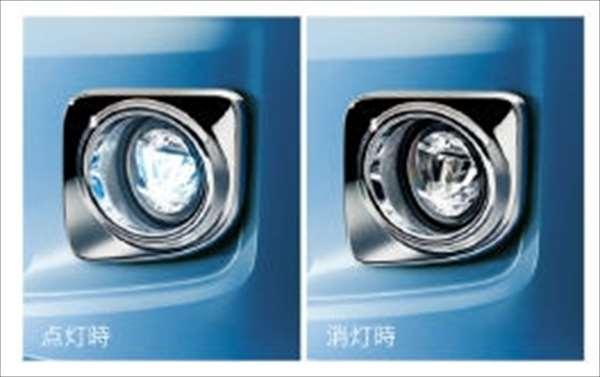 『ムーヴ』 純正 LA150S メッキ LEDフォグランプ パーツ ダイハツ純正部品 フォグライト 補助灯 霧灯 move オプション アクセサリー 用品
