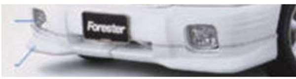 『フォレスター』 純正 SF系 フォレスターエアロキット パーツ スバル純正部品 Forester オプション アクセサリー 用品